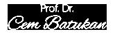 Prof. Dr. Cem Batukan Logo
